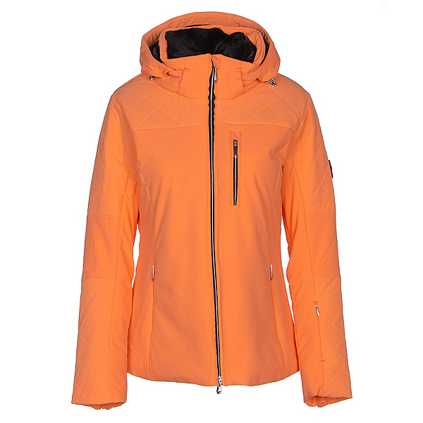 Descente Mira Womens Insulated Ski Jacket, Candy Orange, 600