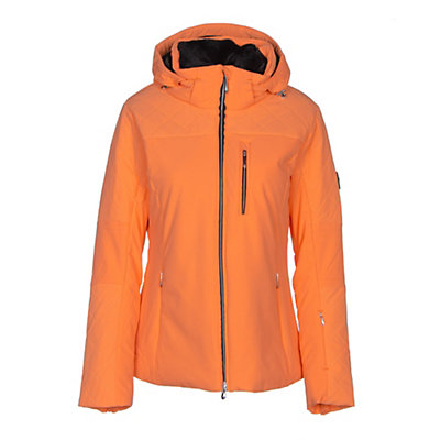 Descente Mira Womens Insulated Ski Jacket, Candy Orange, viewer