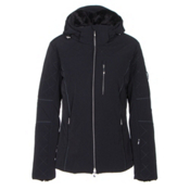 Descente Mira Womens Insulated Ski Jacket, Black, medium