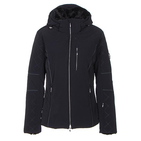 Descente Mira Womens Insulated Ski Jacket, Black, 600