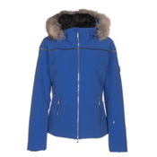 Descente Raven Womens Insulated Ski Jacket, Royal Blue, medium