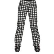 Descente Selene Print Womens Ski Pants, Chidori White, medium