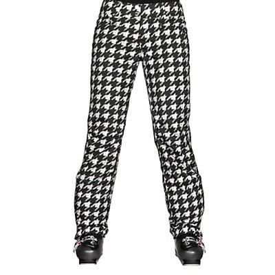 Descente Selene Print Womens Ski Pants, Chidori White, viewer