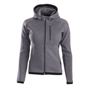 Descente Lauren Womens Jacket, Gray-Black, medium