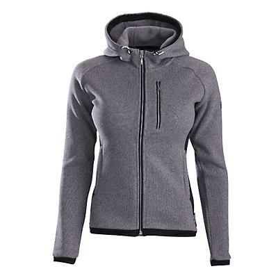 Descente Lauren Womens Jacket, Gray-Black, viewer