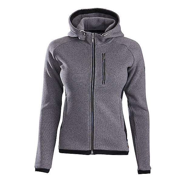 Descente Lauren Womens Jacket, Gray-Black, 600