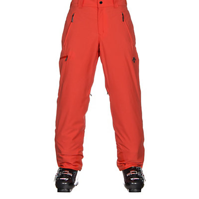 Descente Comoro Mens Ski Pants, Electric Orange, viewer