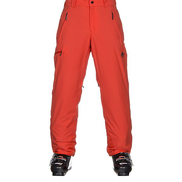 Descente Comoro Mens Ski Pants, Electric Orange, 600
