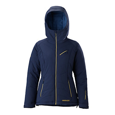 Marker Snowdancer Womens Insulated Ski Jacket, Currant, viewer