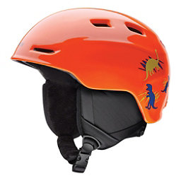 Smith Zoom Jr. Kids Helmet, Neon Orange Dinos, 256
