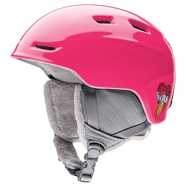Smith Zoom Jr. Kids Helmet, Pink Sugarcone, 600