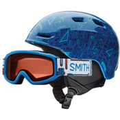 Smith Zoom Jr. & Sidekick Combo Kids Helmet 2017, Lapis Toolbox, medium