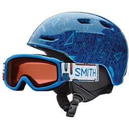 Smith Zoom Jr. & Sidekick Combo Kids Helmet 2017, Lapis Toolbox, 256
