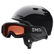 Smith Zoom Jr. & Sidekick Combo Kids Helmet, Black, medium