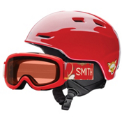Smith Zoom Jr. and Gambler Combo Kids Helmet 2017, Fire Animal Kingdom, medium