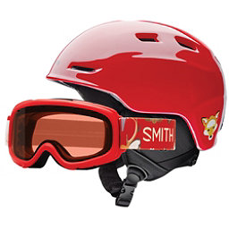 Smith Zoom Jr. and Gambler Combo Kids Helmet 2017, Fire Animal Kingdom, 256