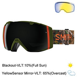 Smith I/O Goggles 2017, Lago Id Real Tree Xtra Green-B + Bonus Lens, 256