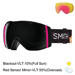 Smith I/O Goggles, Unicorn-Blackout + Bonus Lens, 256