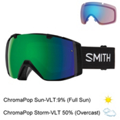 Smith I/O Goggles 2017, Black-Chromapop Sun + Bonus Lens, medium