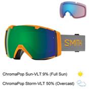Smith I/O Goggles 2017, Solar-Chromapop Sun + Bonus Lens, medium