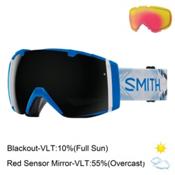 Smith I/O Goggles 2017, Coal-Blackout + Bonus Lens, medium