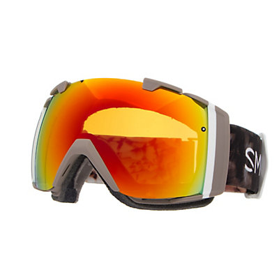 Smith I/O Womens Goggles 2017, Angel Id-Red Sol X Mirror + Bonus Lens, viewer