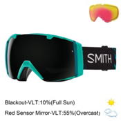 Smith I/O Womens Goggles 2017, Opal Unexpected-Blackout + Bonus Lens, medium