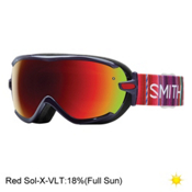Smith Virtue Womens Goggles 2017, Black Cherry Cuzco-Red Sol X M, medium