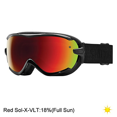 Smith Virtue Womens Goggles, Black Cherry Cuzco-Red Sol X M, viewer