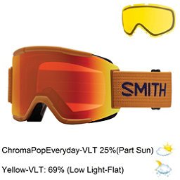 Smith Squad Goggles 2017, Cargo-Chromapop Everyday + Bonus Lens, 256
