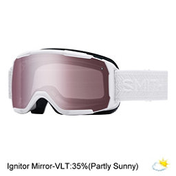 Smith Showcase Womens OTG Goggles 2017, White Eclipse-Ignitor Mirror, 256