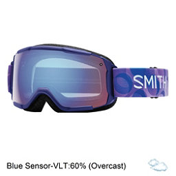 Smith Grom Girls Goggles 2017, Ultraviolet Dollop-Blue Sensor, 256