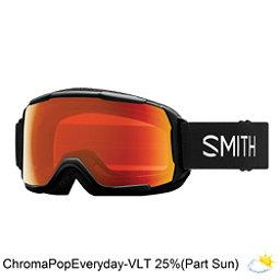Smith Grom Kids Goggles 2018, Black-Chromapop Everyday Red M, 256