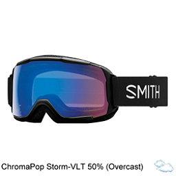 Smith Grom Kids Goggles 2018, Black-Chromapop Storm Rose Fla, 256