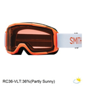 Smith Daredevil Kids Goggles 2017, Neon Orange Burgers-Rc36, medium