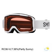 Smith Daredevil Kids Goggles 2017, White-Rc36, medium