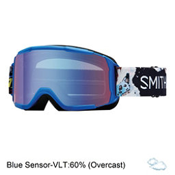 Smith Daredevil Kids Goggles, Lapis Ripped Comic-Blue Sensor, 256