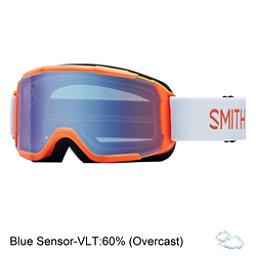Smith Daredevil Kids Goggles 2017, Neon Orange Burgers-Blue Senso, 256
