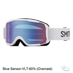 Smith Daredevil Kids Goggles 2017, White-Blue Sensor Mirror, 256