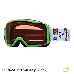 Smith Daredevil Girls Goggles 2017, Reactor Creature-Rc36, 256