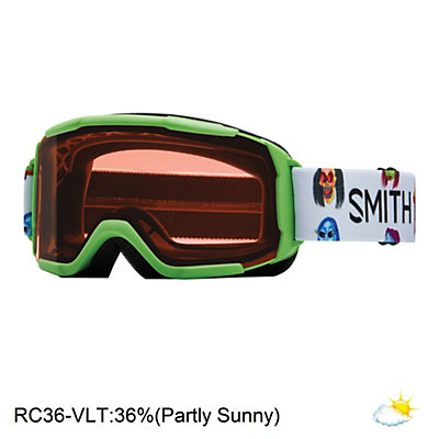 Smith Daredevil Girls Goggles, Reactor Creature-Rc36, viewer