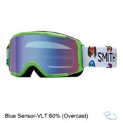 Smith Daredevil Girls Goggles, Reactor Creature-Blue Sensor M, medium