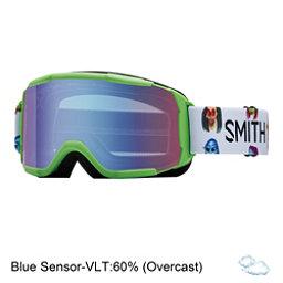 Smith Daredevil Girls Goggles, Reactor Creature-Blue Sensor M, 256
