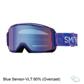 Smith Daredevil Girls Goggles, Ultraviolet Dollop-Blue Sensor, medium