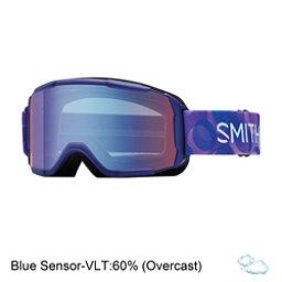Smith Daredevil Girls Goggles, Ultraviolet Dollop-Blue Sensor, 256