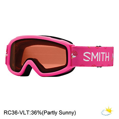 Smith Sidekick Girls Goggles 2017, Pink Sugarcone-Rc36, viewer