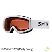 Smith Sidekick Kids Goggles, White-Rc36, medium
