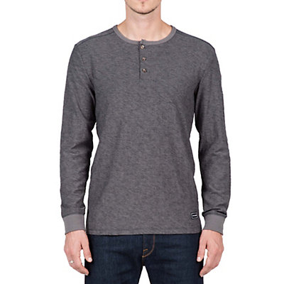 Volcom Moxee Long Sleeve Henley Mens Shirt, , viewer