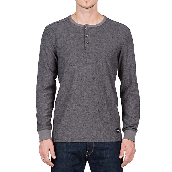 Volcom Moxee Long Sleeve Henley Mens Shirt, , 600