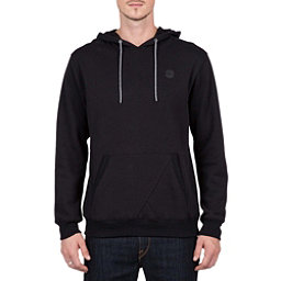 Volcom Single Stone Pullover Mens Hoodie, Black, 256